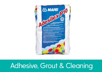 Adhesive, Grout & Accessories