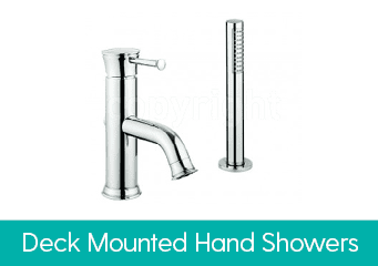Deck Mounted Hand Showers