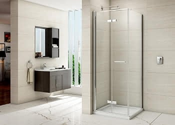 Infold & Bifold Shower Doors with Side Panel
