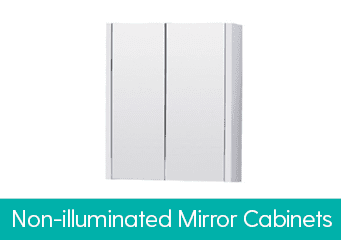 Non Illuminated Mirror Cabinets