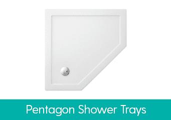 Pentagon Shower Trays