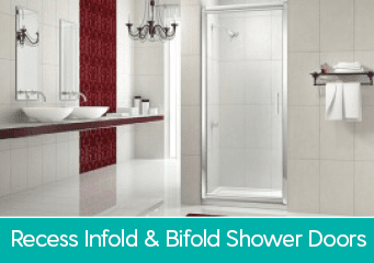 Recess Infold & Bifold Shower Doors