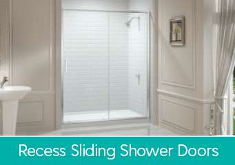 Recess Sliding Shower Doors