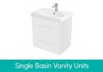 Single Basin Vanity Units