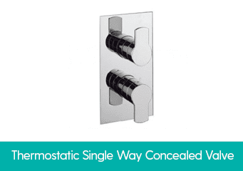Thermostatic One Way Concealed Valve