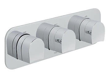 Thermostatic Three Way Concealed Valves