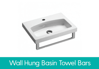 Wall Hung Basin Towel Rails