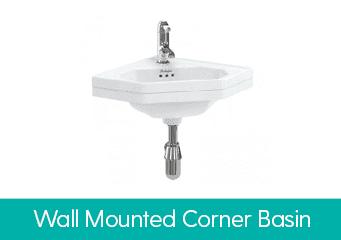 Wall Mounted Corner Basin