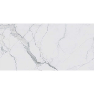 European Tiles Classic Statuario Chain E 240X120 Gloss Porcelain 6Mm Rectified Tile