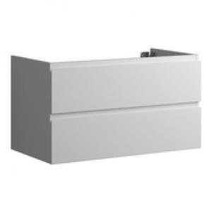 Faeber Mode 2 Drawer 900mm Basin Unit Grigio Antracite Matt