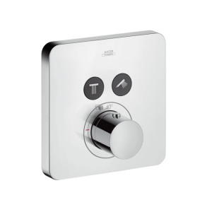 Hansgrohe Axor Showerselect Axor Showerselect Soft Thermostatic Mixer For Concealed Installation For 2 Outlets Chrome