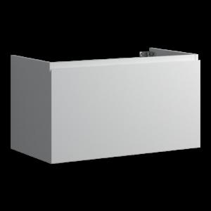 Faeber Mode 90 Basin Unit 1 Drawer Matt White