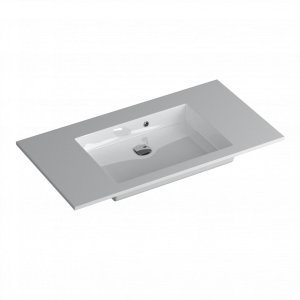 Faeber Silkstone Box 900mm Single Central Gloss Basin