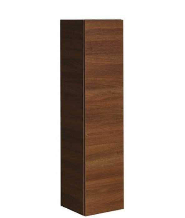 Crosswater Single Door Storage Unit 350x1440 Walnut Wall