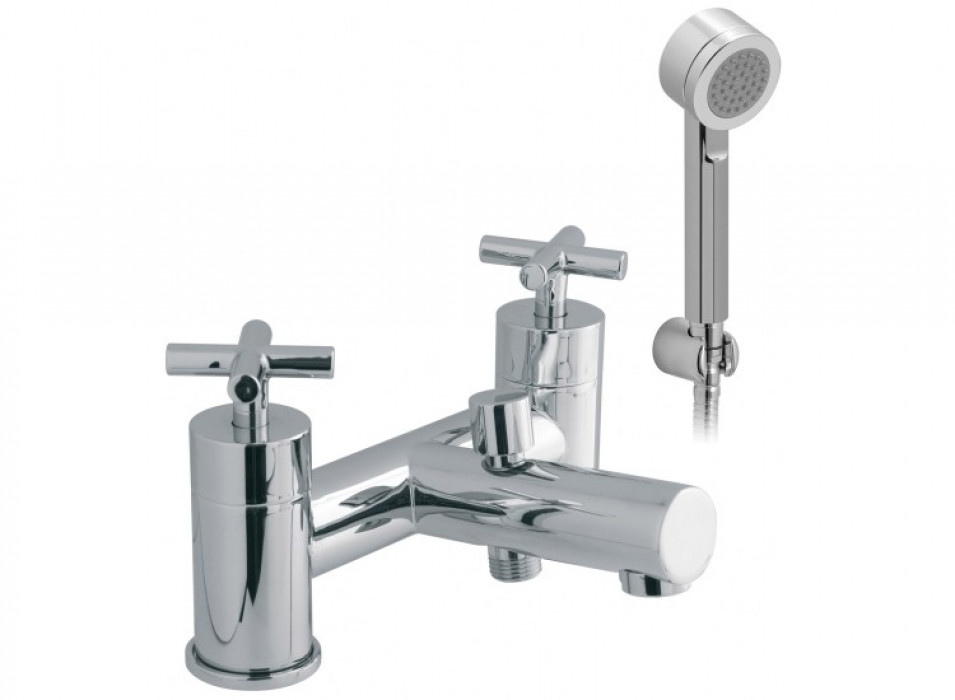 Vado Elements Water 2 Hole Bath Shower Mixer Deck Mounted