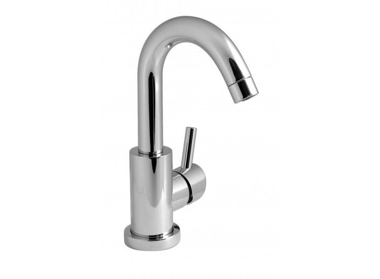 Vado Life Sink Mixer With Swivel Spout: Vado Elements Air Mono Sink Mixer Single Lever Deck