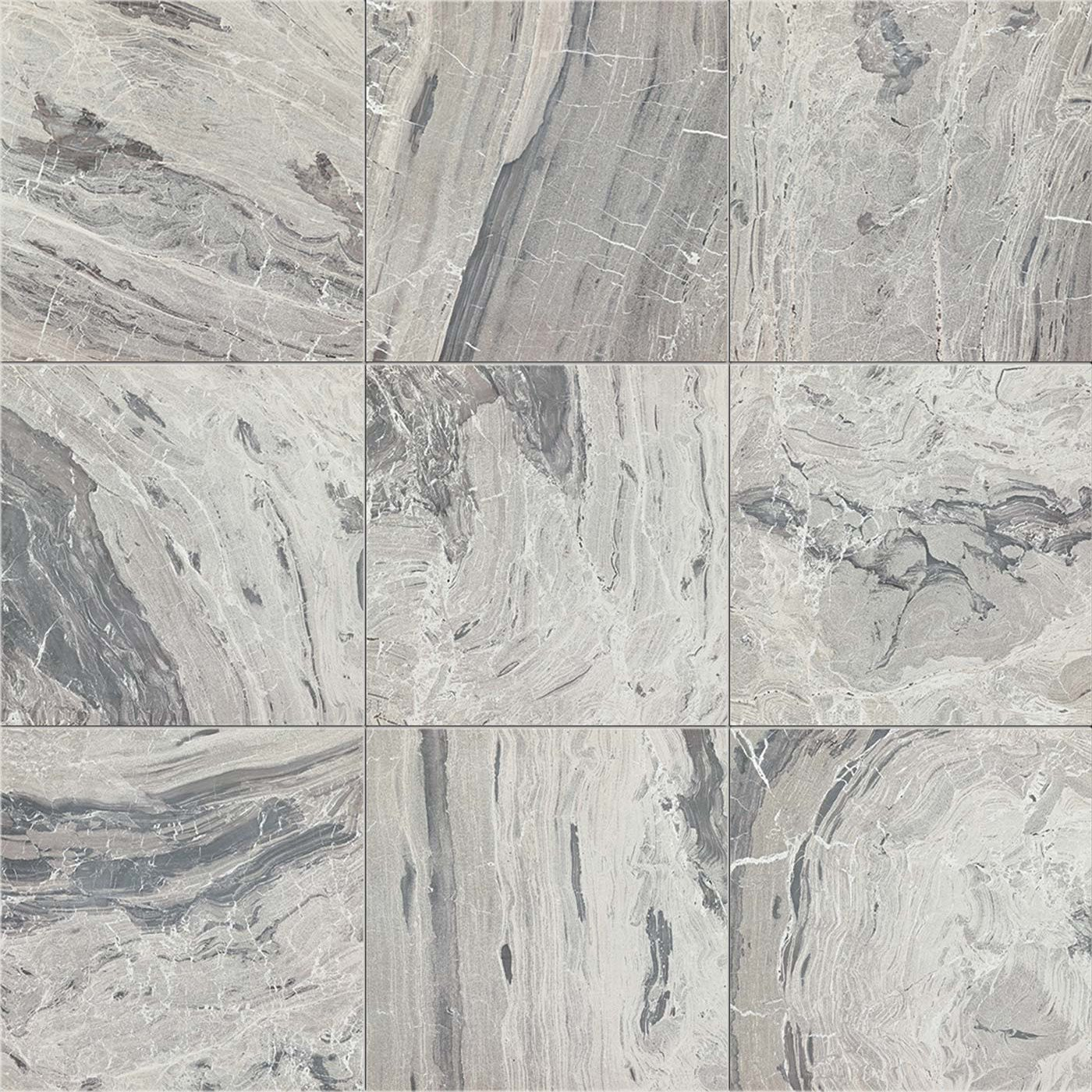 European Tiles Marble Grey 60x120 Gloss Porcelain Tile Stone Effect Tiles Bathroomsbydesign