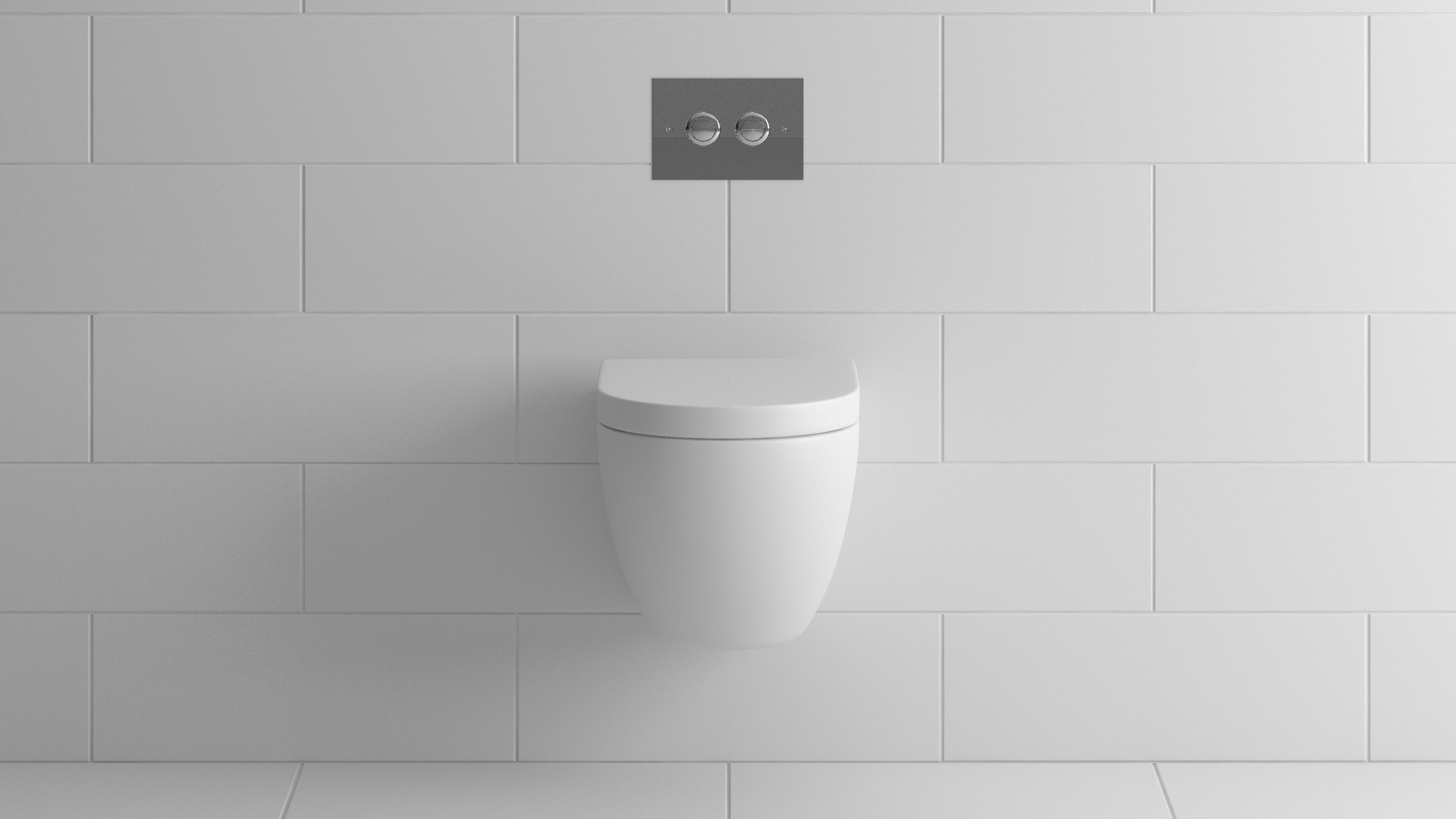 BathroomsByDesign - Bauhaus Linea Back To Wall Pan with Seat