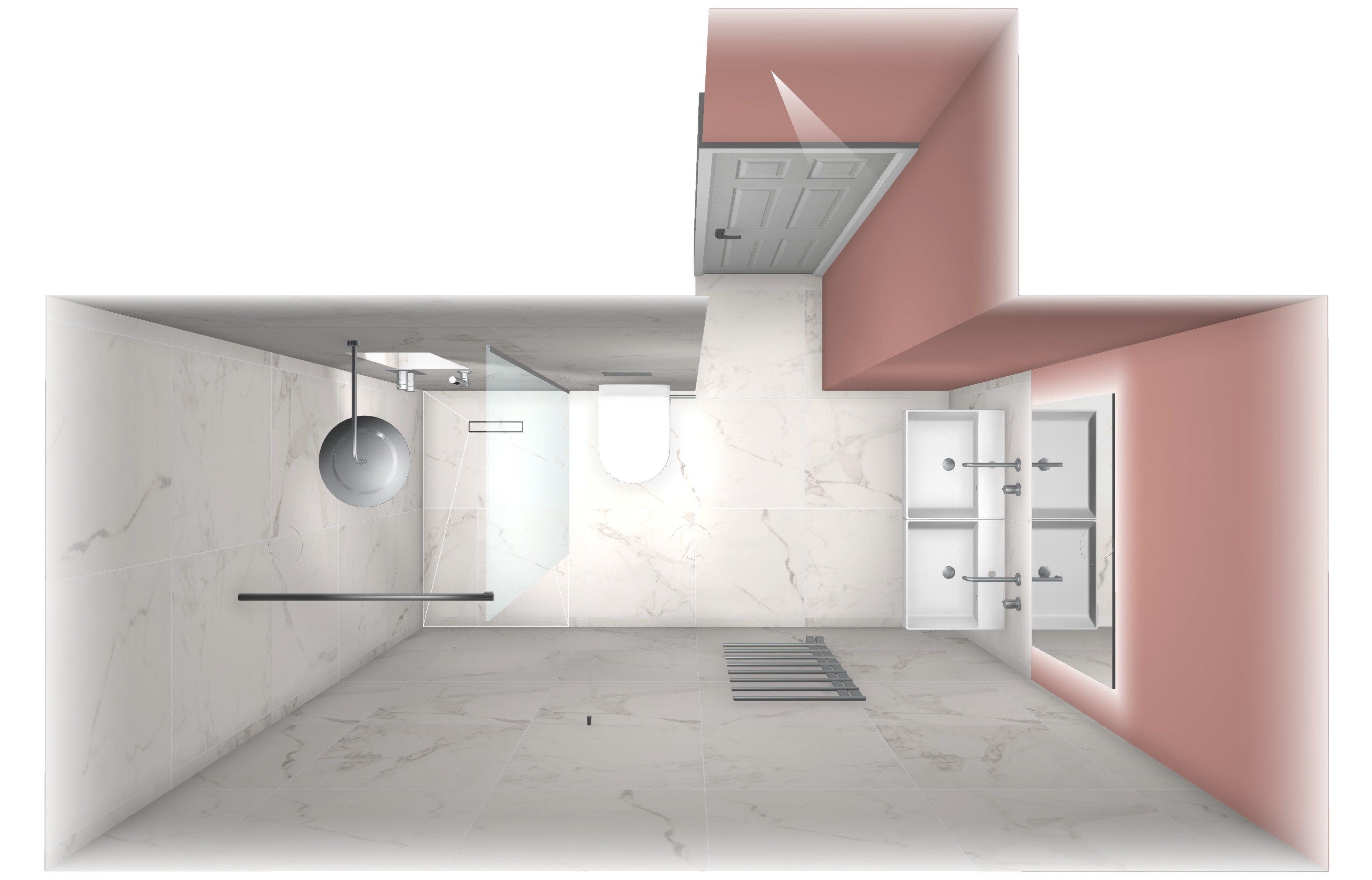 BathroomsByDesign - Blog - Design of the Week: Ensuite, Fulham